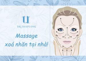 massage mặt tại nhà